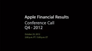 Apple To Announce Q4 Earnings October 25th