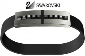 Crystal-clad Bracelet Hides Flash Storage