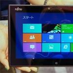 Fujitsu Demos Windows 8 Tablet