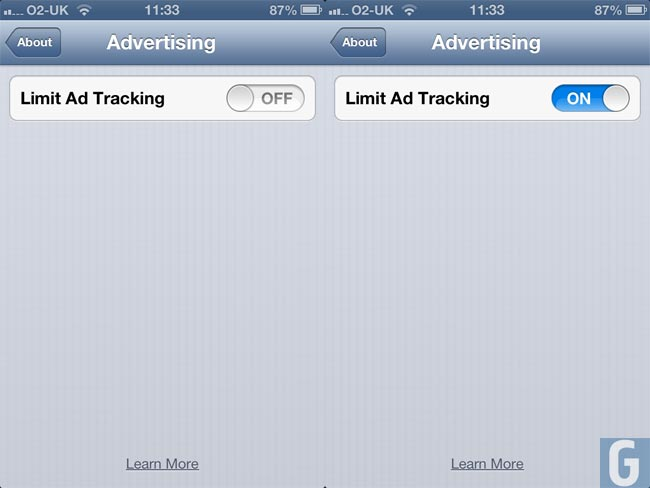 iOS 6 Tracking