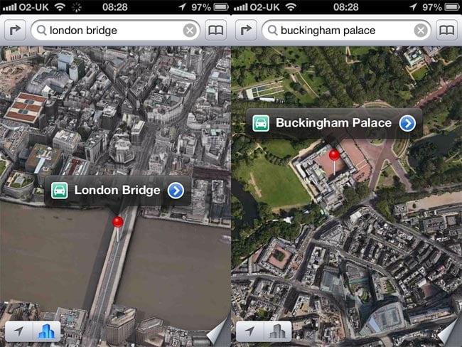 Apple Maps Uses 80 Percent Less Data Than Google Maps on