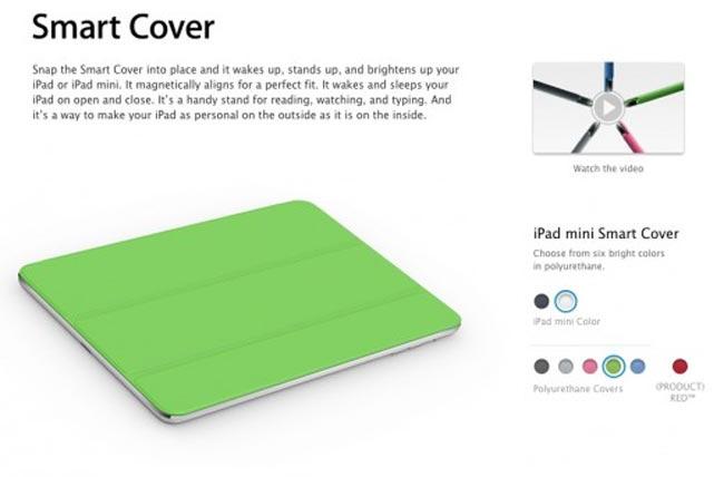 Apple Announces The iPad MinI Smart Cover