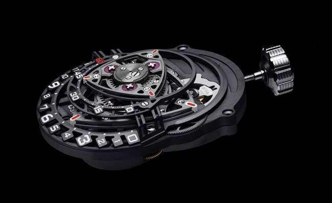 limited edition C3H5N3O9 Nitro Experiment ZR012 timepiece
