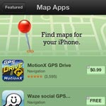 Apple Adds Alternative Maps Section To iOS App Store