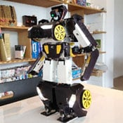 Brave Robotics Transforming Robot Enters Production (video)
