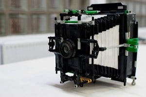 Retro Bellows Camera Created Using Lego And Duct Tape