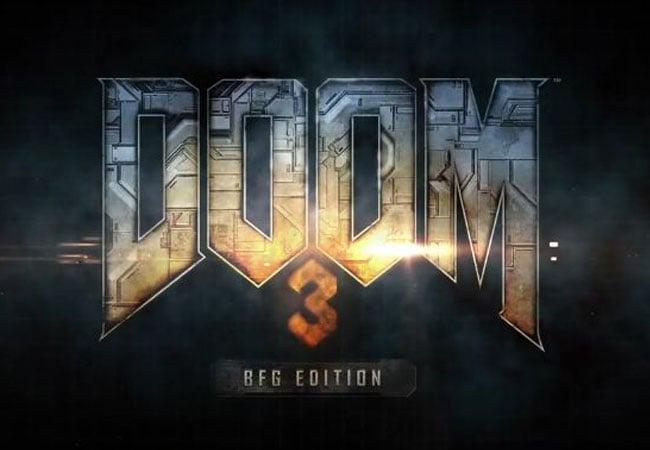 Doom 3 BFG Source Code