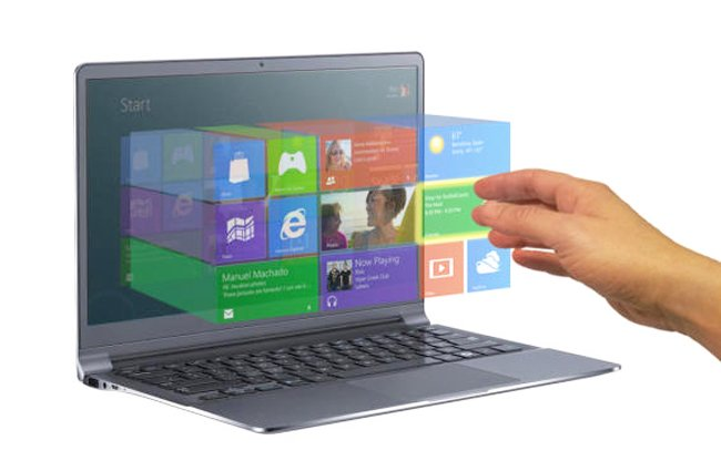 Elliptic Labs Windows 8 Touchless Gesture Control