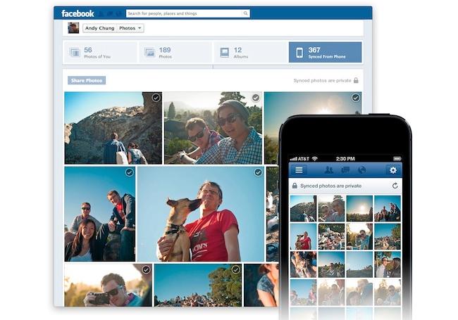 Facebook Photo Syncing