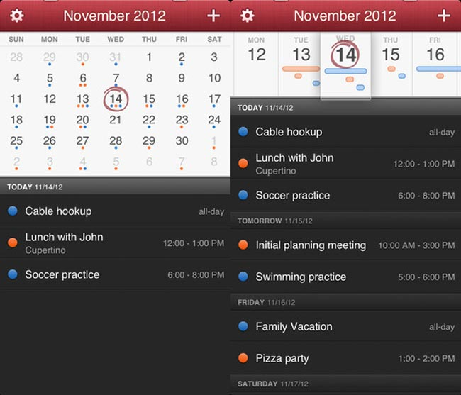Fantastical Calendar App
