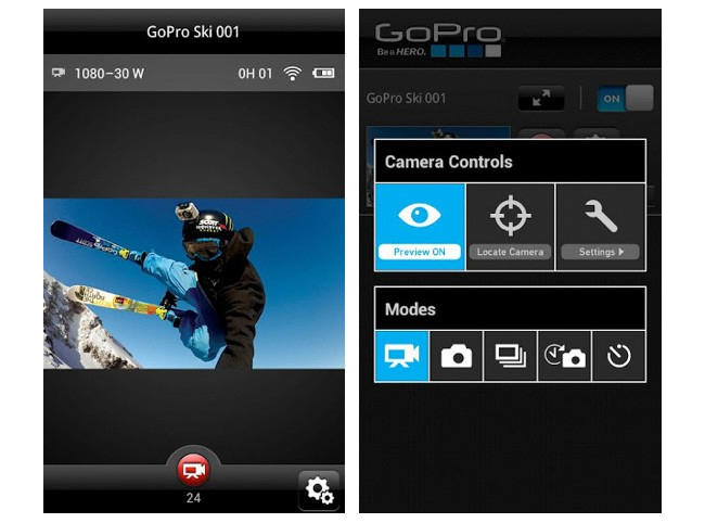 GoPro Camera Remote Control App Arrives On Android