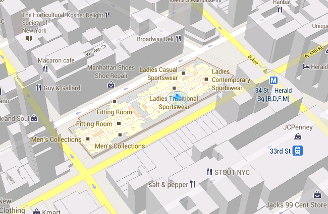 Google Indoor Maps