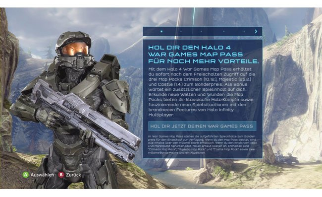 Halo 4 Map Packs