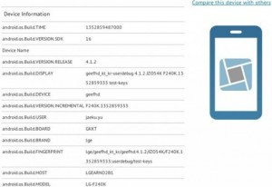 LG Smartphone With Full HD Display Appears In Benchmarks