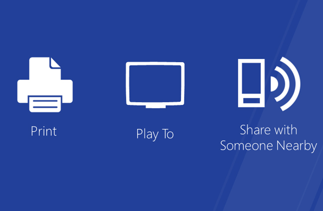 Microsoft Windows 8 Play To