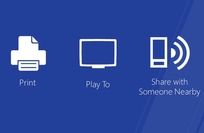 Microsoft Windows 8 Play To