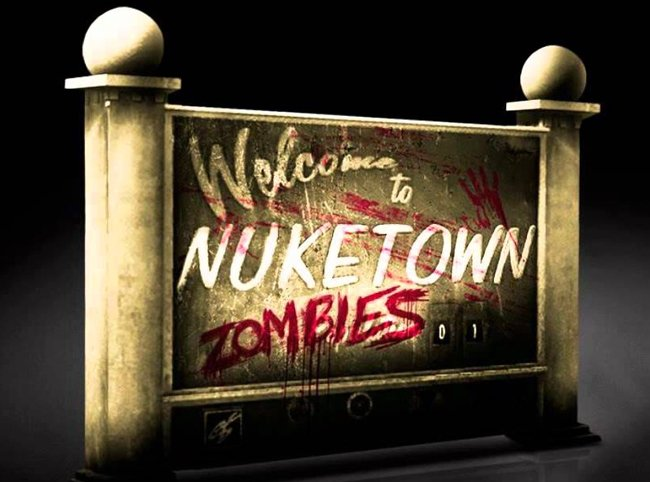NukeTown Zombies Map