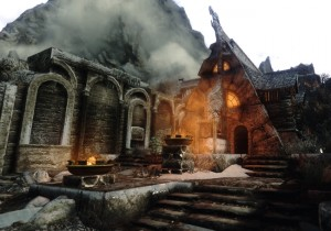 Skyrim Running 100 Enhancement Mods Looks Unbelievably Awesome