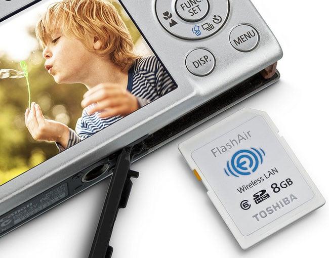 Toshiba 8GB FlashAir SDHC Wi-Fi Card