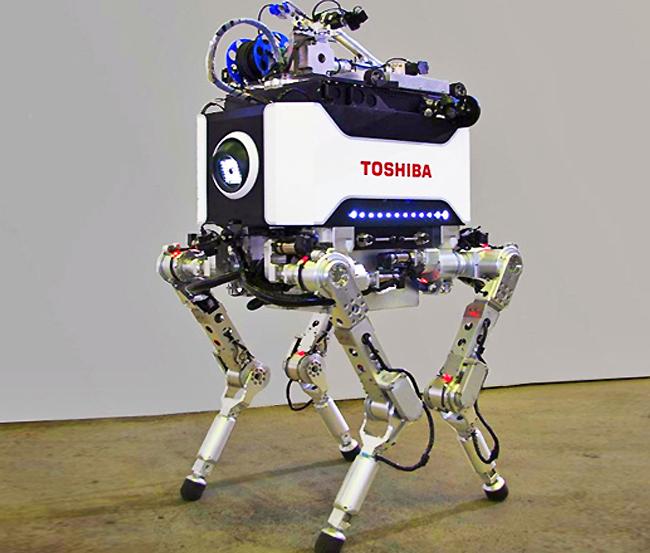 Toshiba Four-Legged Fukushima Robot