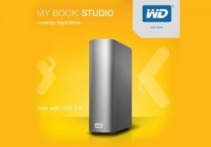 Western Digital Rolls Out USB 3.0 Across My Book Studio Range, And Unveils 4TB Model