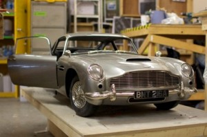 The Aston Martin DB5 wrecked in Skyfall was a 3D printed model
