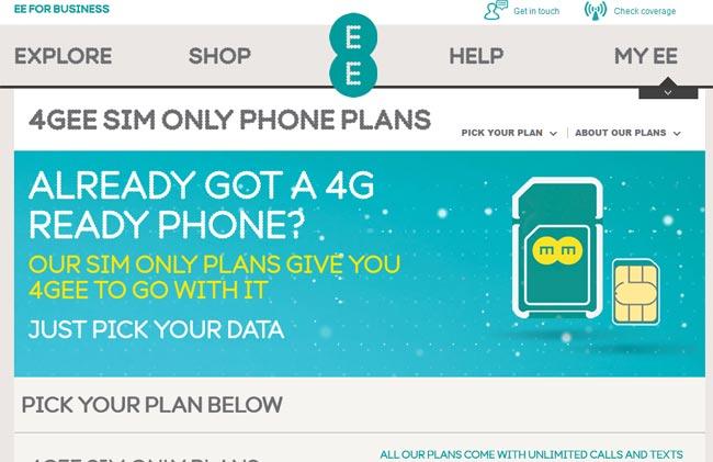 4G LTE EE