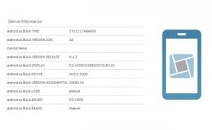 Huawei Ascend D2 Full Full HD Smartphone Appears In Benchmarks
