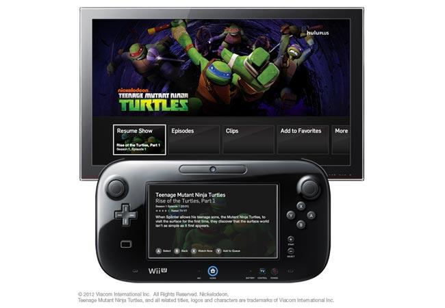 Hulu Wii U