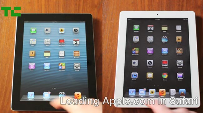 iPad 3 vs iPad 4