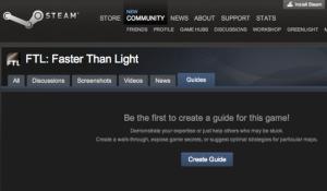 Valve Launching GameFAQ-Like Steam Service Game Guides