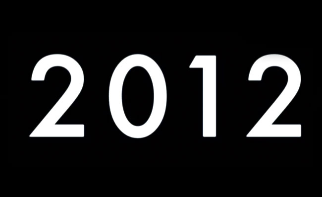 2012 Video Games