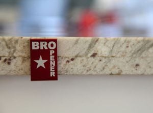 BROpener Turns Any Surface Into A Bottle Opener (video)