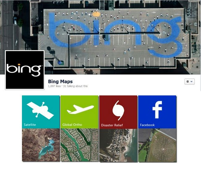 Microsoft Bing Maps Updated With TB Of Global Satellite Images - Microsoft satellite maps