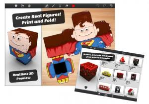 Foldify 3D PaperCraft iPad App Launches (video)