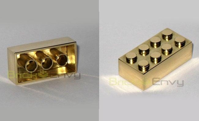 Gold Lego Brick
