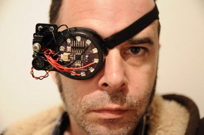 Gregory McRoberts AR Eye Patch