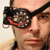 DIY Augmented Reality Eye Patch Provides Extra Senses