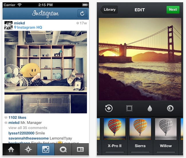 The Twitter App Is Updated with Image Filters to Combat with Instagram