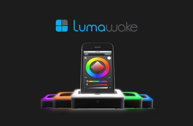 The Lumawake iPhone Dock