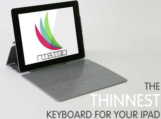 NIBIQU iPad Keyboard Case