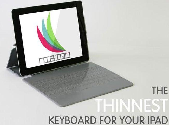 NIBIQU iPad Keyboard Case
