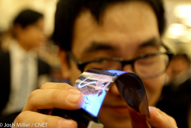 Samsung 5.5 Inch Flexible Smartphone Screen