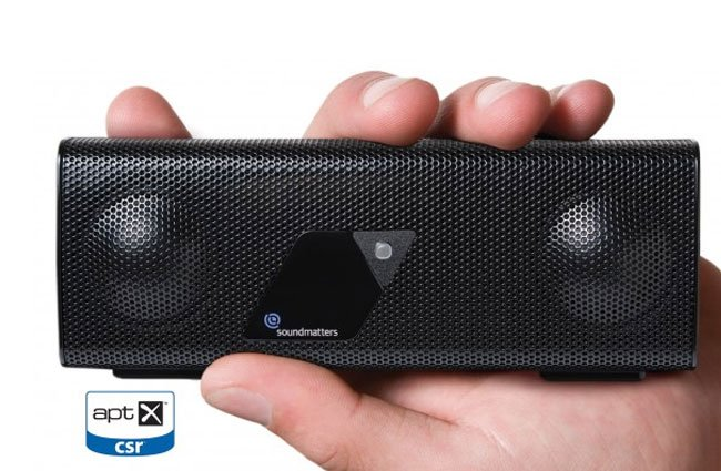 Soundmatters foxLv2 AptX Bluetooth Speaker