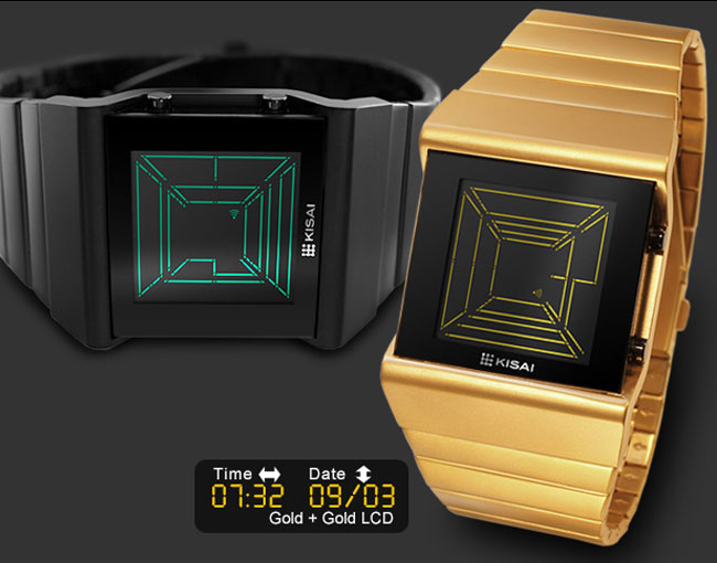 Space Digits Watch