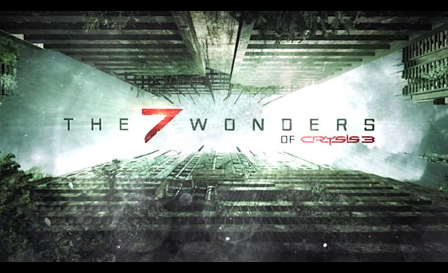 The Seven Wonders of Crysis 3