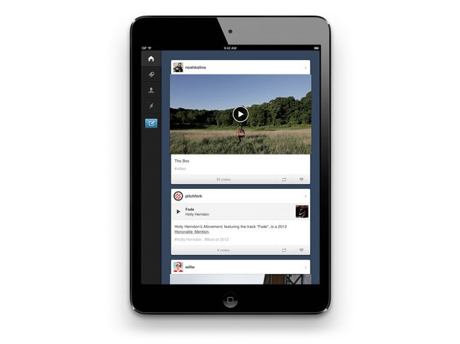 Tumblr iPad App