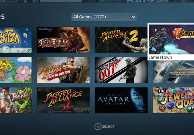 Valve Big Picture Steam TV