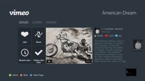 Xbox Live Receives Vimeo, AOL On, SNagFilms And More