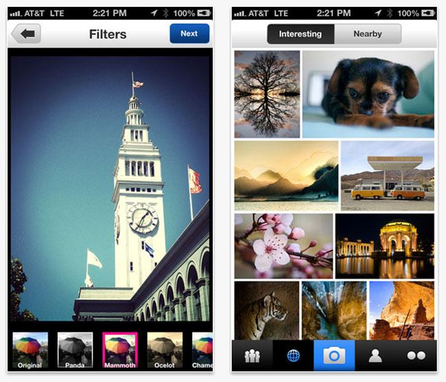 Yahoo Flickr App